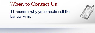 When to Contact Our Firm